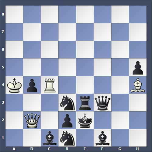 Schach Schachproblem Murdzia