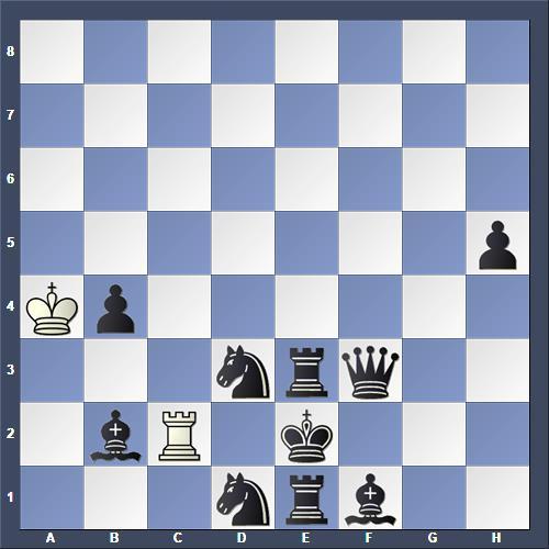 Schach Hilfsmatt Murdzia