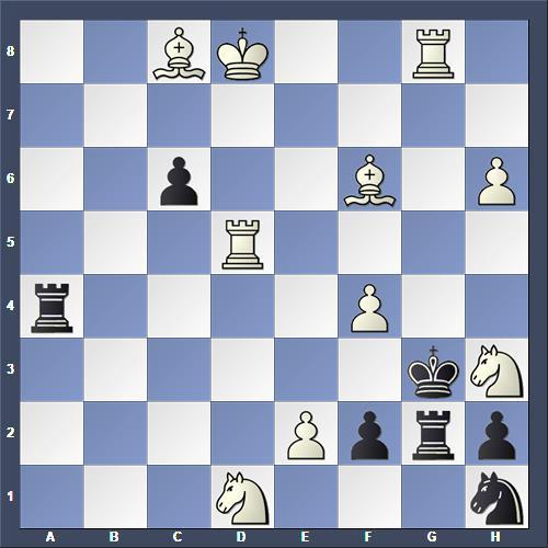 Schach Schachproblem Wessels