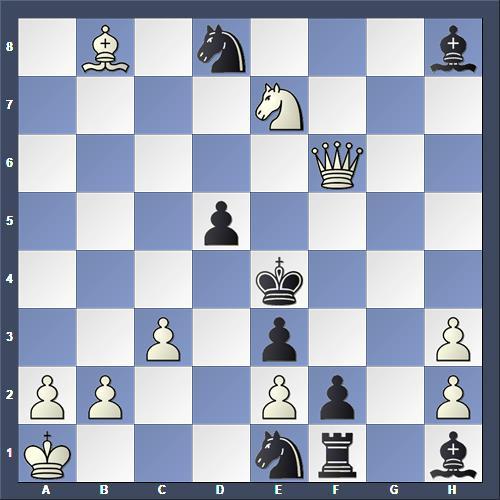 Schach Schachproblem Vokál