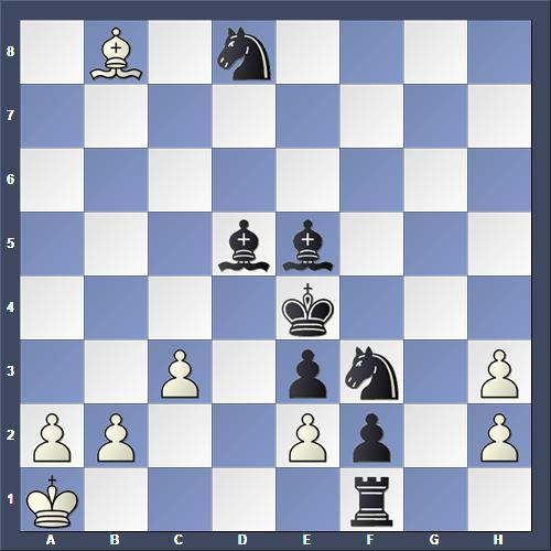 Schach Selbstmatt Vokál