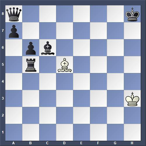Schach Schachproblem Geissler
