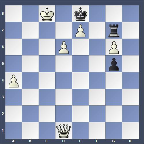 Schach Schachproblem Hansen