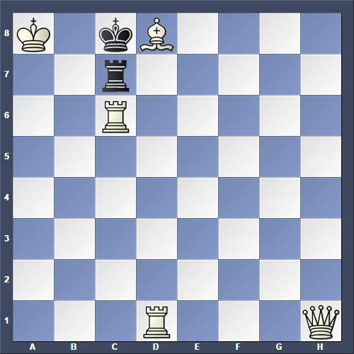 Schach Schachproblem Dubina