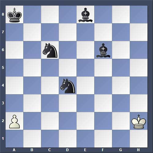 Schach Schachproblem Tanner
