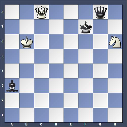 Schach Studie Keidanz