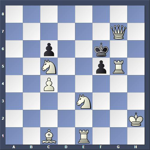 Schach Schachproblem Cozzolino