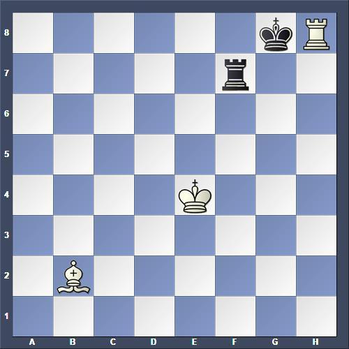 Schach Schachproblem Rallo