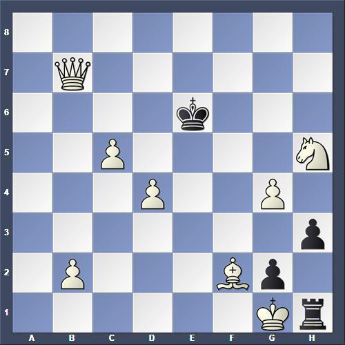 Schach Selbstmatt Majoros