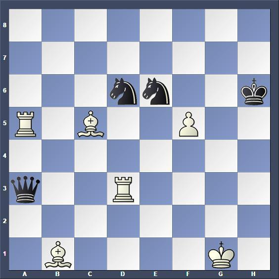 Schach Schachproblem Stojoski