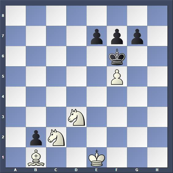 Schach Schachproblem Krampis