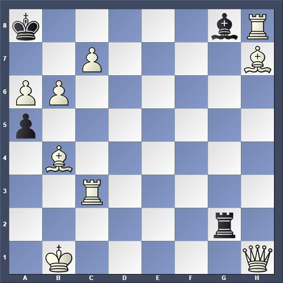 Schach Schachproblem Petite
