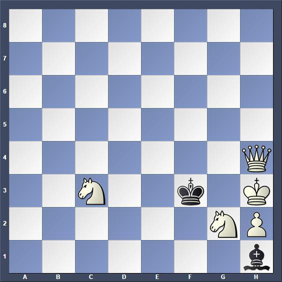 Schach Schachproblem Iwanow