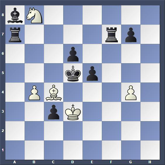 Schach Schachproblem Keller