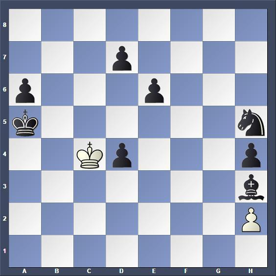 Schach Schachproblem Zujevas