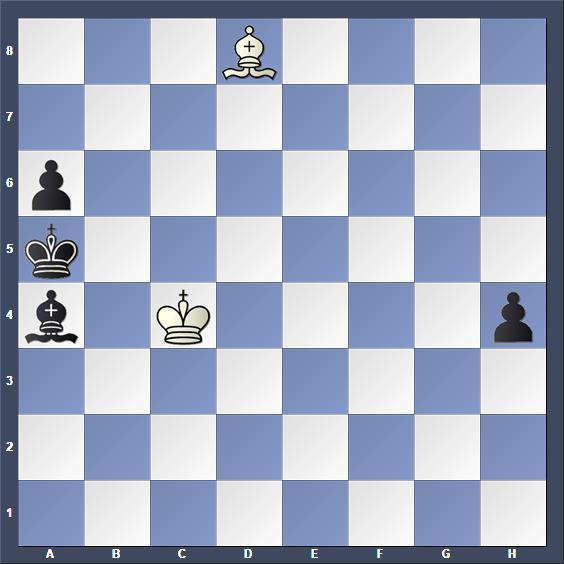 Schach Hilfsmatt Zujevas