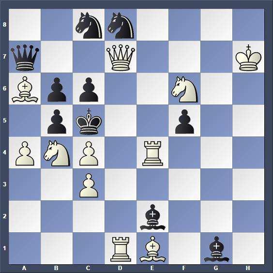 Schach Schachproblem Groth