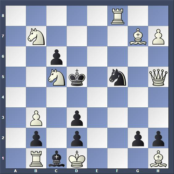 Schach Schachproblem Czák