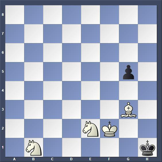Schach Schachproblem Donati