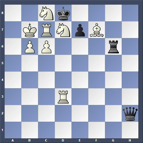 Schach Schachproblem Heyl