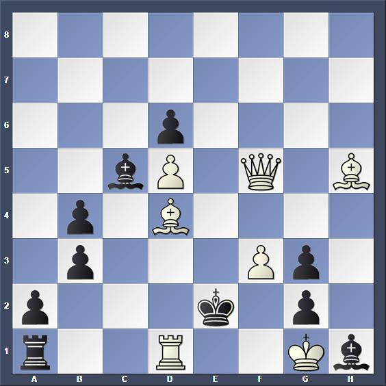 Schach Schachproblem Retter