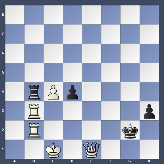Schach Schachproblem Ling