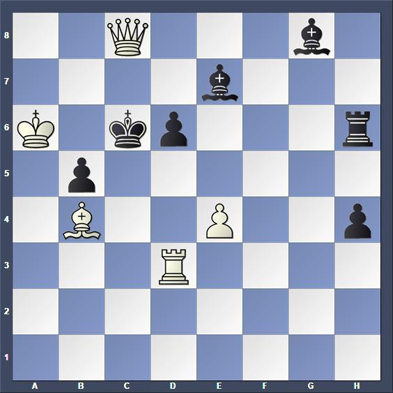 Schach Schachproblem Delobel