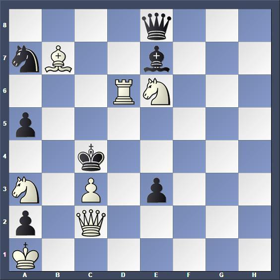 Schach Schachproblem Hassan