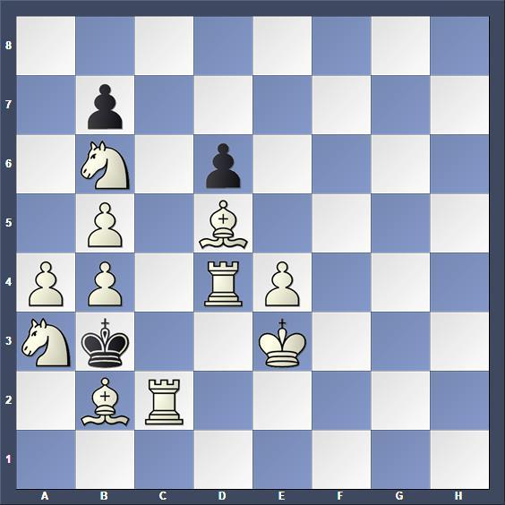 Schach Schachproblem Subotic