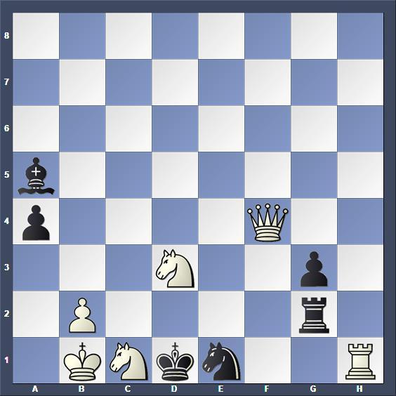 Schach Schachproblem Maleika