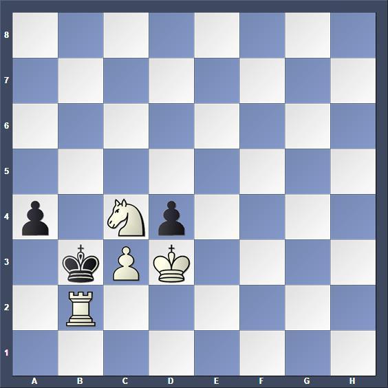 Schach Schachproblem Hähnel