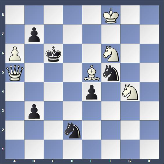 Schach Schachproblem Einat
