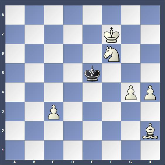 Schach Schachproblem Niestroj