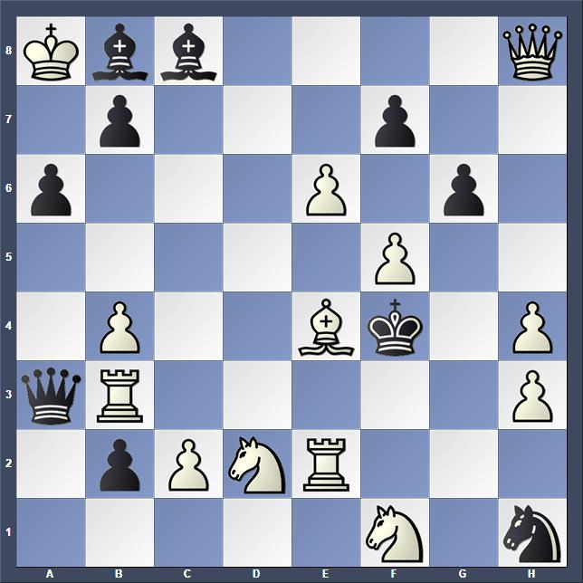 Schach Schachproblem Dyachuk