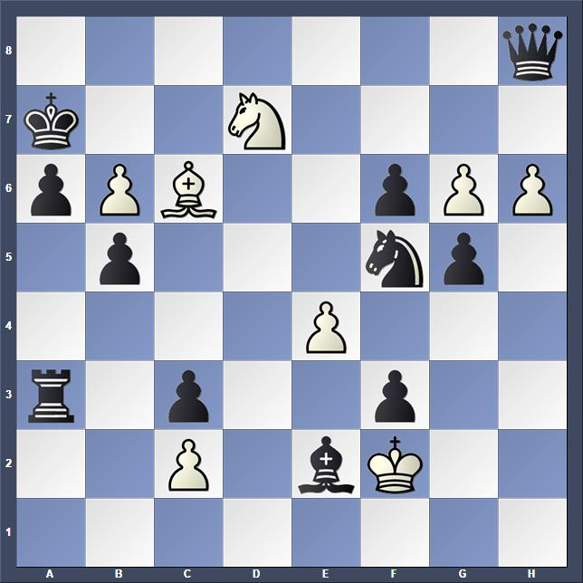Schach Schachproblem Karbowiak