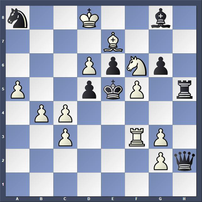 Schach Schachproblem Popov