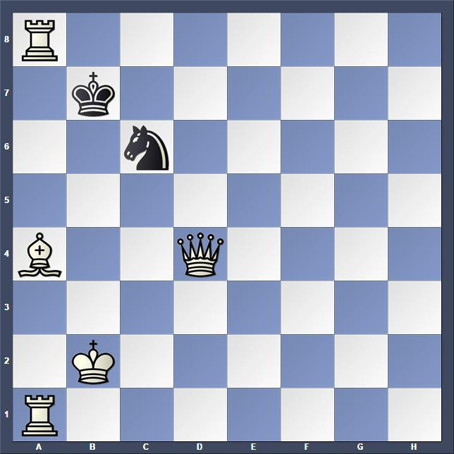 Schach Schachproblem Bourd